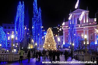 Foto Mercatini Di Natale Lubiana.Mercatini Di Natale A Ljubljana 2019 Foto Date Orari