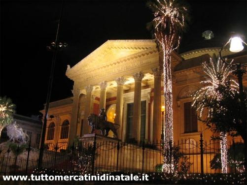 Matrimonio Natale Palermo : Mercatini di natale a palermo foto date orari